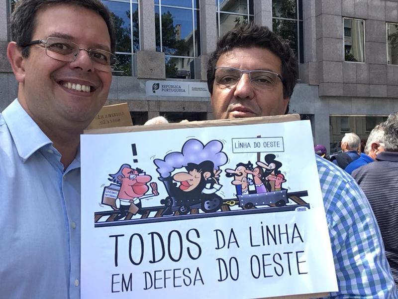 2-Autarcas das Caldas participaram no protesto