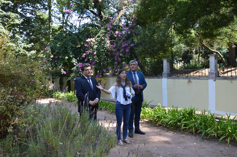 Uma visita pelo Jardim da Rainha onde Vítor Marques apelou à população que usufrua da Mata