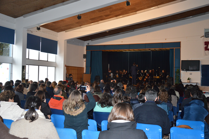 Concerto encheu o polivalente da Escola Secundária Raul Proença
