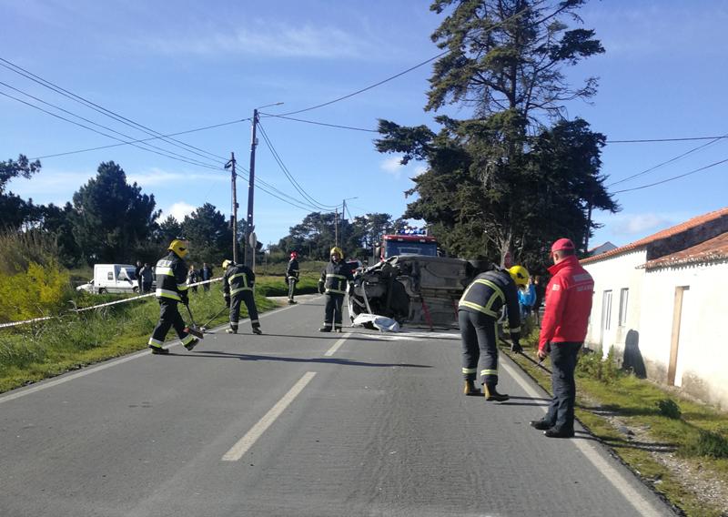 Estrada foi cortada para a prestação do socorro
