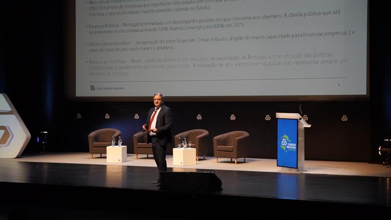 O presidente executivo do banco, Paulo Macedo, encerrou o evento