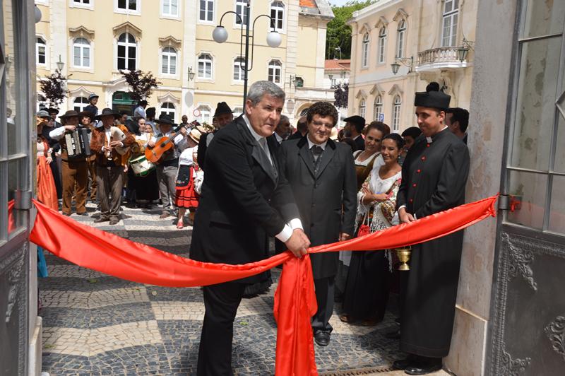 Evocação da inauguração do Parque D. Carlos I