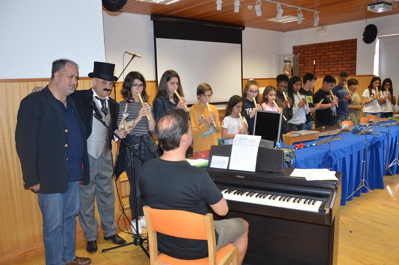 Música dos alunos de Educação Musical