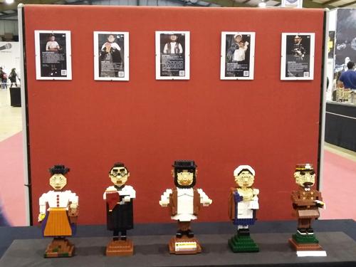 Peças de Bordalo em Lego
