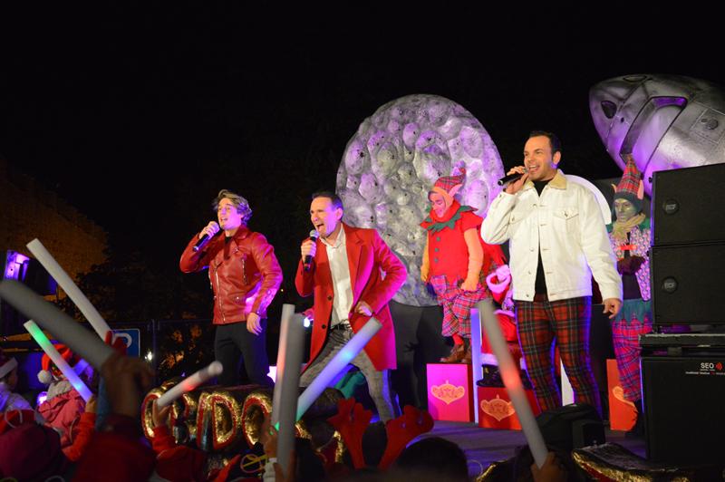 """Os Maxi, banda responsável por êxitos como """"Anjo Selvagem"""", foram os convidados de honra"""