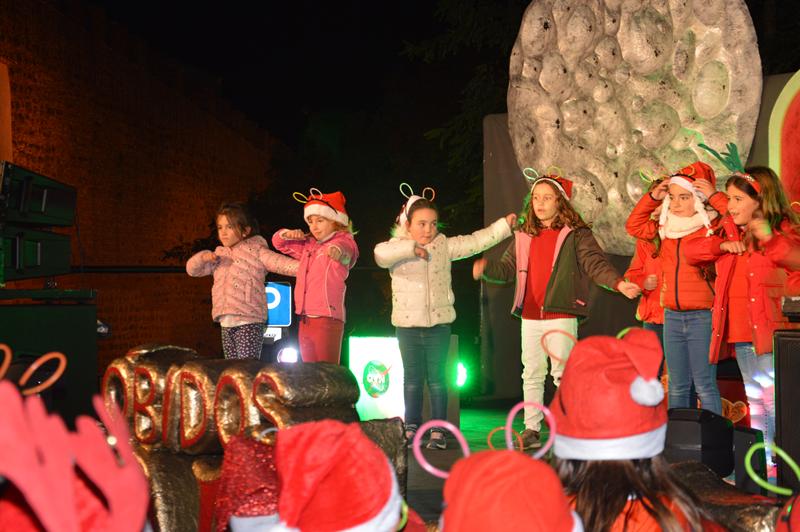 As crianças brilharam com as coreografias