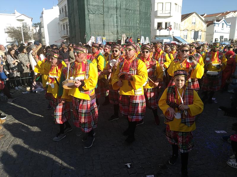 Carnaval divertido e muito musical