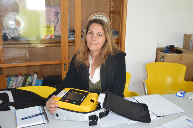 Tânia Silva é a médica responsável pelo Plano Local de Desfibrilhação Automática Externa