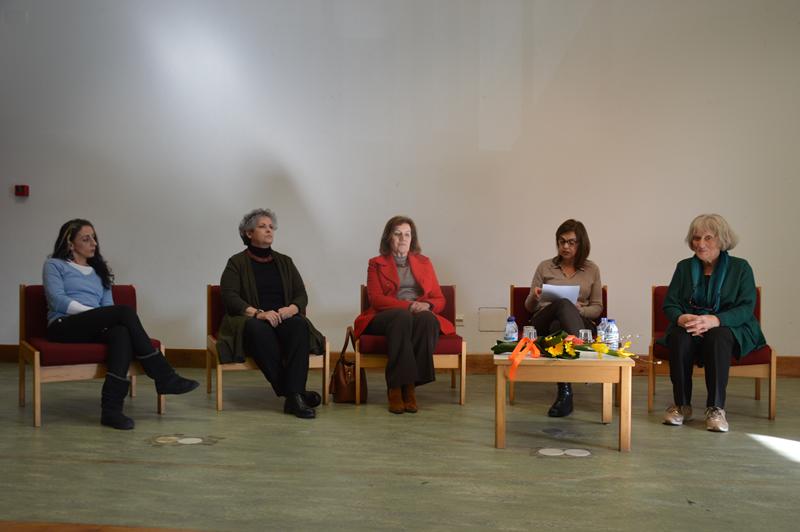 Tânia Leonardo, Isabel Lopes, Maria da Conceição, Aida Reis e Amélia Videira