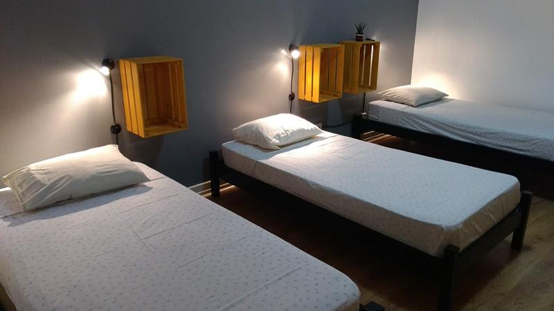 O Hostel 4nomads, localizado no centro das Caldas da Rainha, já reabriu