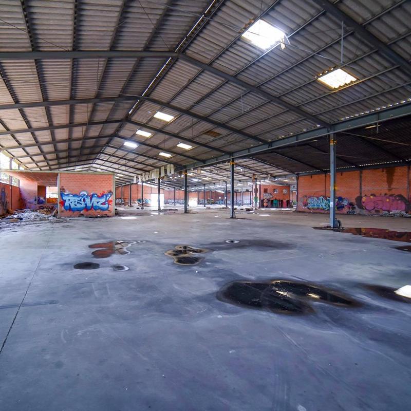 Interior da fábrica Secla desativada na Zona Industrial (foto ProPortugal)