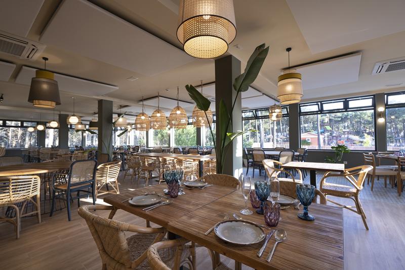 O restaurante está aberto ao público de sexta-feira a domingo