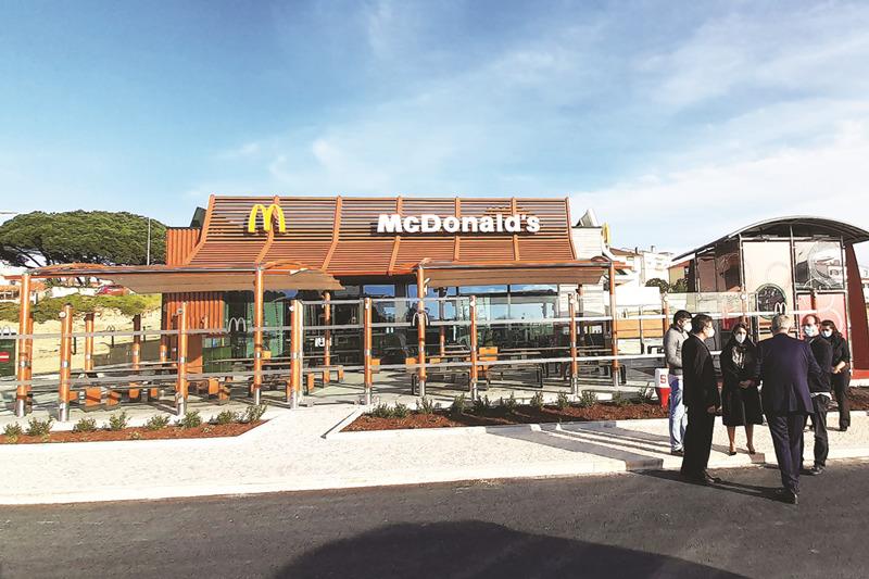 Novo McDonald's está quase pronto