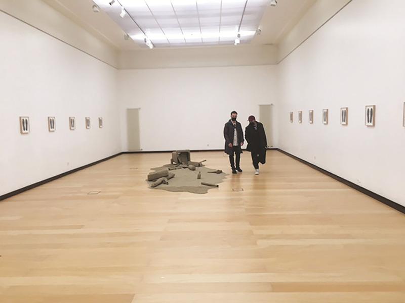 """O Museu José Malhoa foi reaberto com a visita à exposição temporária """"Promenade au désert"""""""