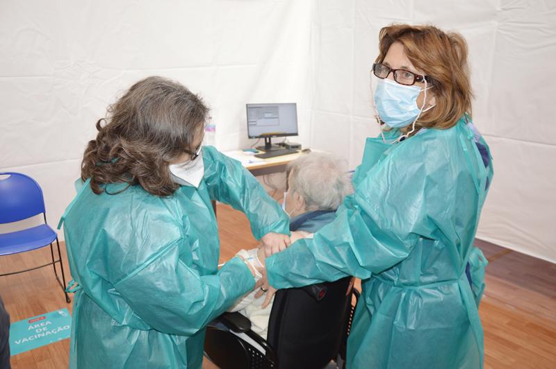 O Pavilhão da Mata é agora o único espaço de vacinação nas Caldas