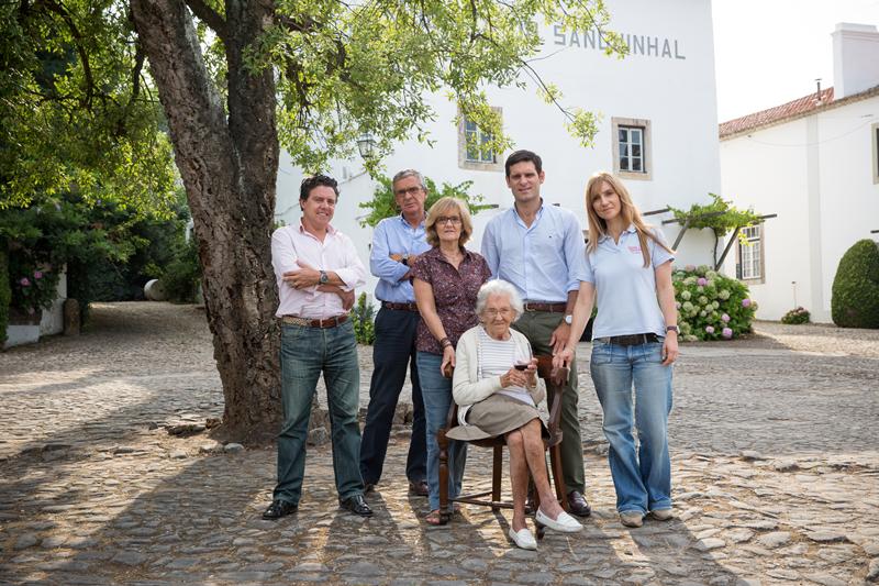 Família e equipa da Companhia Agrícola