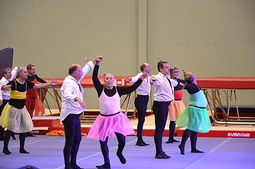 Grupo de dança dos Bombeiros de Amadora