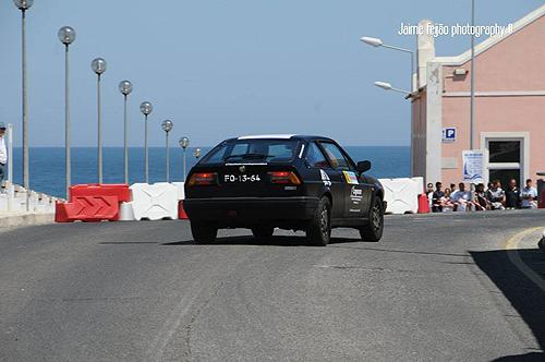 João Pedro Rego com Alfa Romeo Sprint