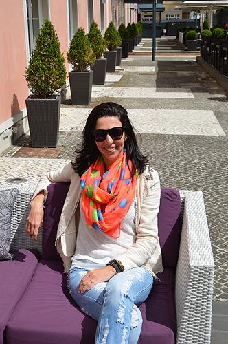 A produtora de moda, Patrícia Oliveira, está a coordenar o desfile