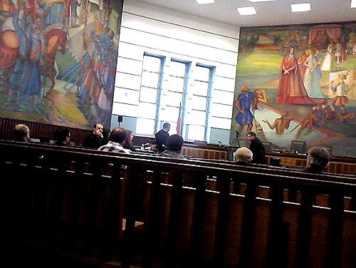 Estiveram presentes seis dos onze arguidos na leitura do acórdão