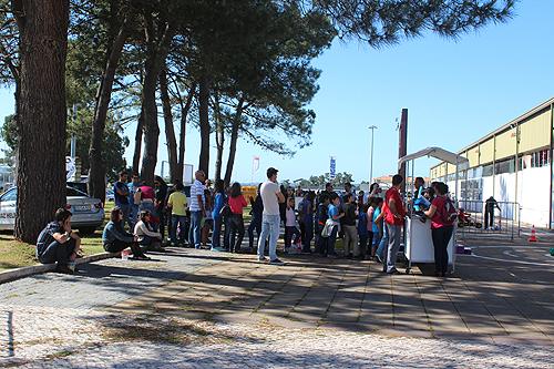 Estiveram presentes no evento cerca de 450 pessoas durante o fim-de-semana
