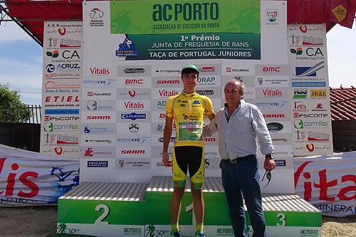 Daniel Vegas, um dos ciclistas da Sicasal/Liberty Seguros/Bombarralense