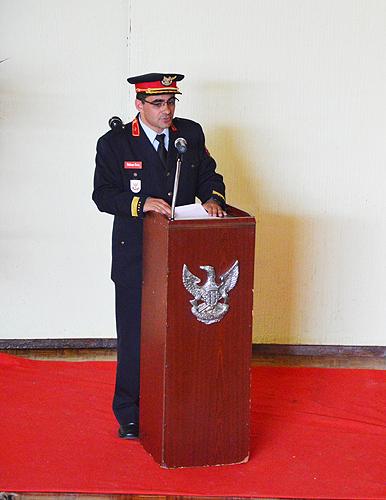 O comandante Nelson Cruz lamentou os obstáculos criados aos estagiários