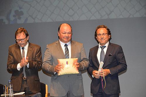 Filho de António Noronha recebeu a medalha