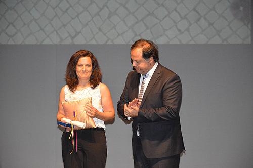 Viúva de Hélder Faustino recebeu a medalha