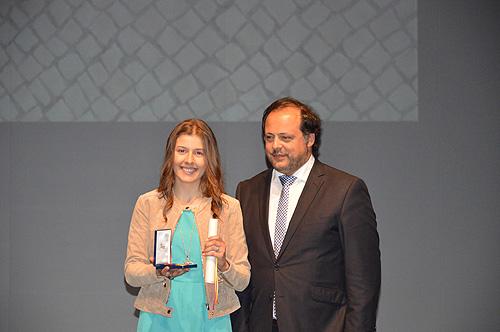 Catarina Carvalho - Medalha Municipal  de Mérito Desportivo