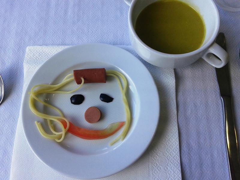 Um sorriso de tomate
