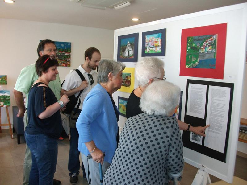 A exposição foi elogiada