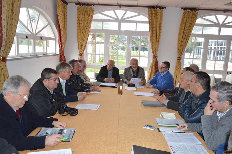Na reunião foram debatidos vários assuntos