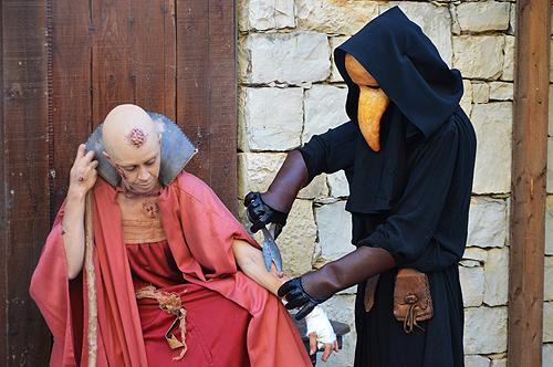 Medos dominam Mercado Medieval