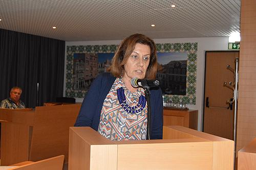 Maria da Conceição usou da palavra para se defender da acusação do CDS-PP