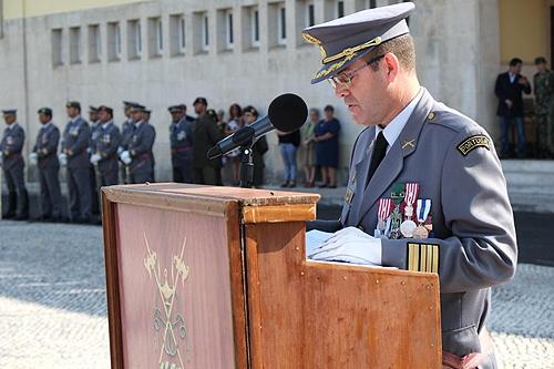 O coronel Lino Gonçalves é o novo comandante