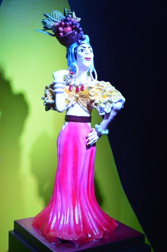 Carmen Miranda em chocolate