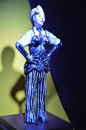 Madonna em chocolate