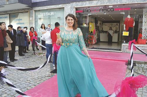 Linha de vestidos de cerimónia é uma das apostas da MaGGnífica