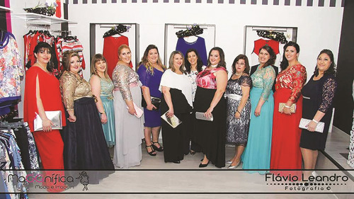Grupo de modelos (Foto: Flávio Leandro)